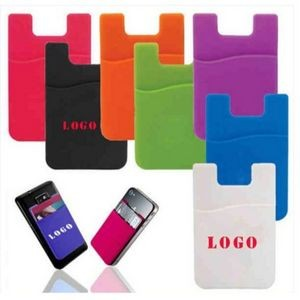 1-Pocket Silicone Phone Wallet
